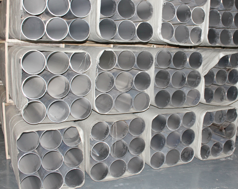 5052-O 210 * 5mm large diameter thin wall pipe